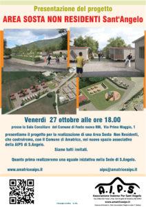 Presentazione progetto Area Sosta Non Residenti Sant'Angelo Amatrice (RI)